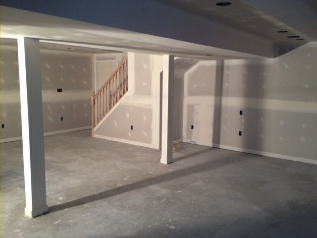 Drywall Painting PK Builders Lehigh Valley Builders Home - Drywall for basement