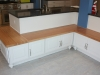 Custom bench seating