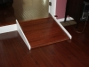 Hardwood flooring with handicap ramp