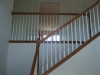 Oak railing