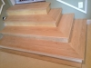 Custom oak steps