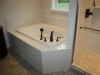 Tile soaking tub