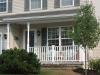 Front porch roof/railing