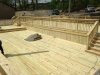 2700sq\' wood deck