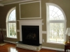 Quarter round arched windows